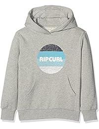 Rip Curl Big Mama Hooded Fleece Sudadera, Niños, Gris (Cement Marle), 14