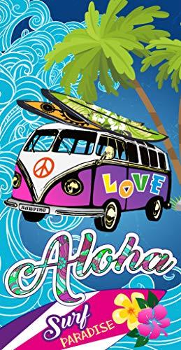 comprar Miracle Home Toalla Microfibra Playa Aloha, 75 x 145 cm