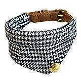 Boodtag Hunde Halsband Fliege Kragen mit Groß Bell Krawatte Haustier Halskette Schal Handtuch Haustier Katze Verstellbare