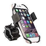 Heaviesk Soporte Universal del Soporte del Manillar de la Bicicleta de la Bici para el teléfono Celular móvil