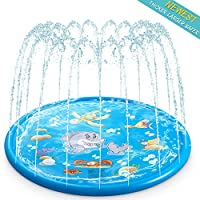 AiRoyal Water Sprinkler Pad for Kids, Upgraded 68