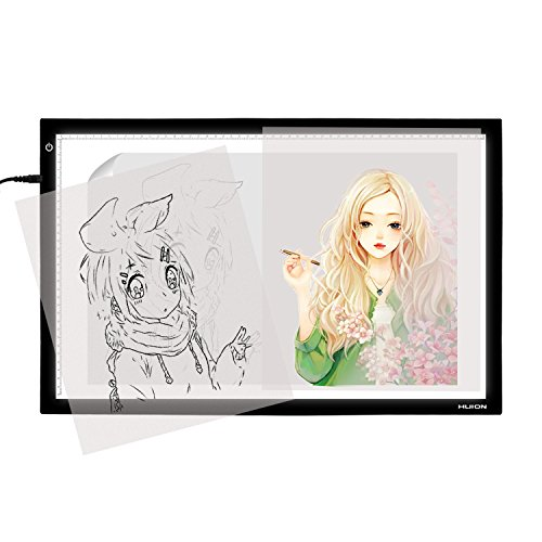 Huion A2 LED Leuchttisch dimmbares Light Pad Leuchtkasten