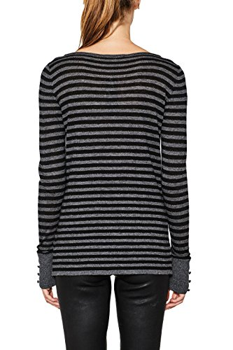 ESPRIT Collection Damen Pullover Schwarz (Black 001)