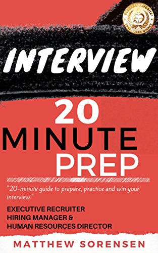 Download pdf interview 20 minute preparation headhunter s download pdf interview 20 minute preparation headhunter s guide to get the job offer online free malvernweather Gallery