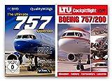BUNDLE -- The Ultimate Boeing 757 Collection - für Flight Simulator X oder FS2004 - & - DVD: LTU Cockpitflight - Boeing 757-200 Kanarische Inseln