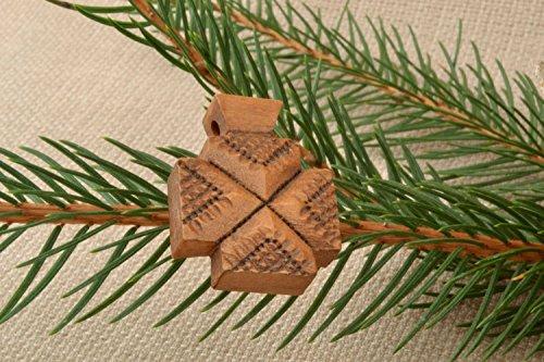 Kreuz Anhanger aus Holz