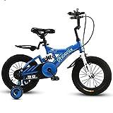 ZXUE Poussette de vélo pour enfants 2-12 ans Poupée de vélo pour enfants 18 pouces vélo pour enfants (Couleur : A, taille : 12 pouces)