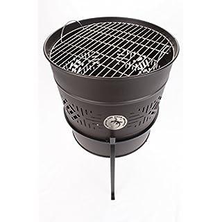 Fire Pit & BBQ (Unique African Fire Drum)