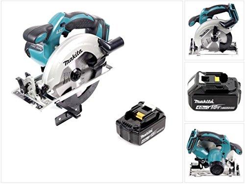 Makita  <strong>Ausstattung</strong>   Akku-Kapazitätsanzeige, Elektronische Motorbremse, LED-Arbeitsleuchte, Aufhängebügel, Spindelarretierung, Überlastungsschutz