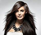 XXL Luxus Statement-Halskette Collier Kristall in schwarz Stachel Blumen Mode-Schmuck Statementkette