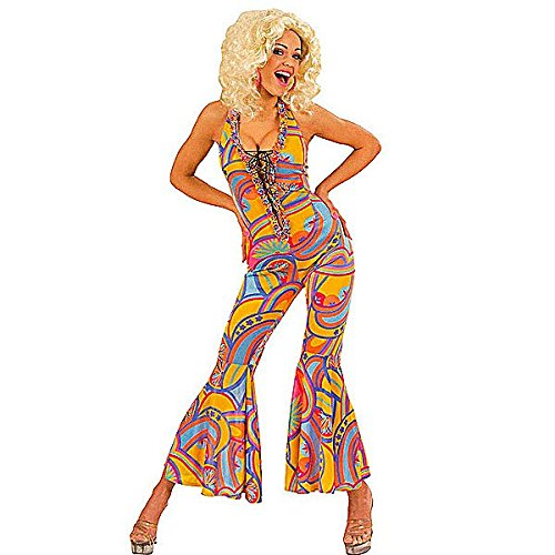 70s Funky Chick Jumpsuit. Size 14-16. Ideal for disco or hippy dress-up