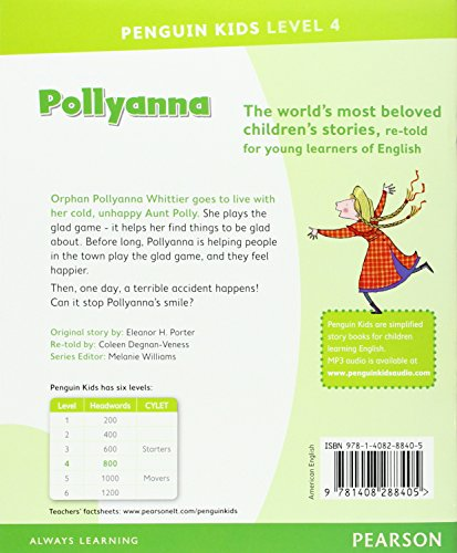 Penguin Kids 4 Pollyanna Reader (Penguin Kids (Graded Readers))