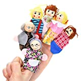 Pizies Finger Puppets Storytelling Educational Hand Play Toy Sets for Baby(Pack of 6)