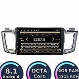 ROADYAKO 10,1 Zoll 32GB Auto Navigation für Toyota RAV4 2013 2014 2015 Android 8.1 Auto Teile Radio GPS Stereo WiFi 3G RDS Spiegel Link FM AM BT SWC