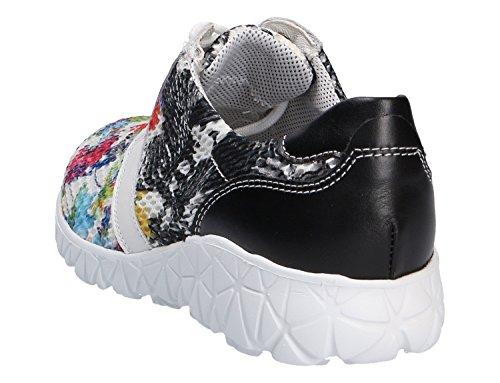 Waldläufer  389004-300-892, Chaussures de ville à lacets pour femme Multicolore