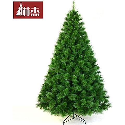 wangjialin-2.1 m /210CM completo preparado con árbol de Navidad Navidad Arcade Hotel está agradablemente amueblado y decorado árbol de Navidad