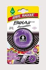 Idea Regalo - Arbre Magique Belair Sensation, Deodorante Gel per Auto, Fragranza Japan Garden, Effetto Lunga Durata, Intensità Regolabile, Design Made in Italy