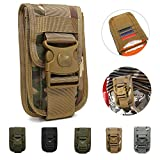 TotaPack Molle Tactical Pouch Utility Small Waist Carry Pouch Compact Outdoor Sport Bag Gadget Pocket Universal Belt Handy Tasche Holder Travel Pack Bag for Men, CP Camouflage