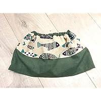 Falda otonal, hecho a mano, regalo para récien nacido