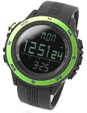 [LAD WEATHER] Deutscher Sensor Digitaler Kompass Höhenmesser Barometer Chronograph Wettervorhersage Outdoor Sportuhr...