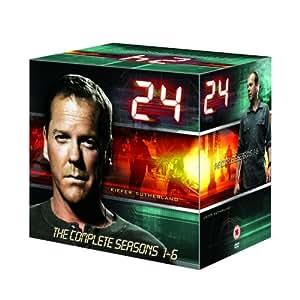 24 - Season 1-6  [DVD]