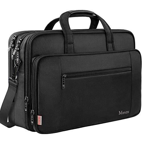 MANCRO Laptop Tasche, 18,4 Zoll Gaming Notebook