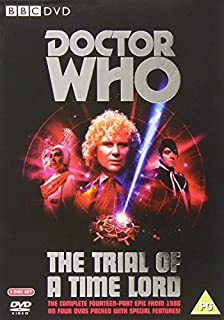 Doctor Who - The Trial Of A Time Lord [1986] [DVD] (B001ARYYNG) | Amazon price tracker / tracking, Amazon price history charts, Amazon price watches, Amazon price drop alerts