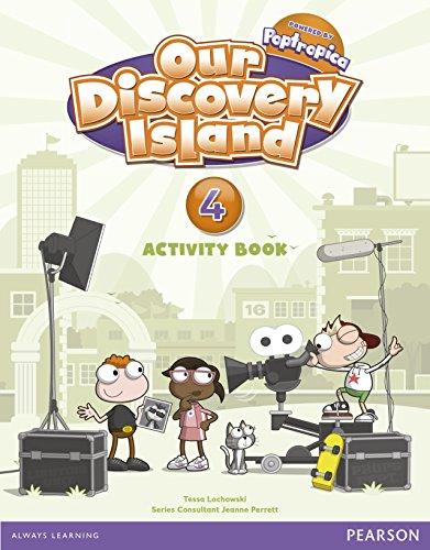 Our Discovery Island, 4 Educación Primaria. Activity book por Anne Feunteun, Debbie Peters
