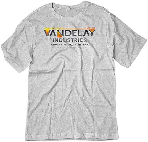 BSW  Herren T-Shirt Gr. X-Large, Ash Grey (Ash York New Grey-t-shirt)