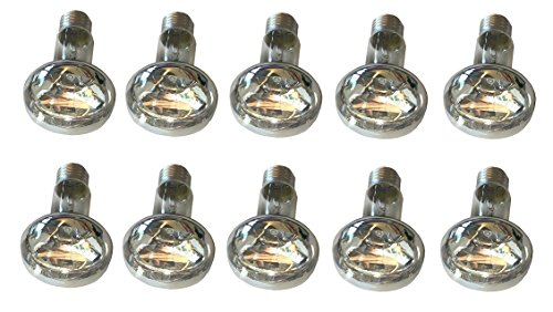 10 Stück Reflektorlampen R63 60 Watt E27 matt Strahler Spot und 60 Watt NR63 Lampe Birne -