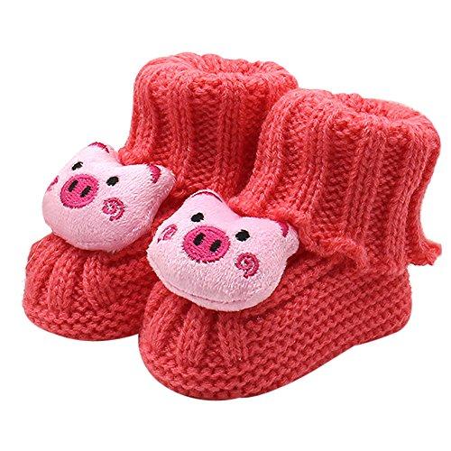 ❤️ Zapatos de Ganchillo del cordón del bebé recién Nacido de la artesanía del bebé del niño Que Hace Punto Absolute