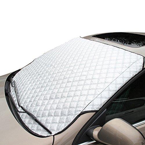 Preisvergleich Produktbild VERTAST Auto Sonnenschutz vor Windschutzscheibe Sonnenschirm 4 Schichten verdicken Frontscheibe Sonnenschutz, Limousine/SUV