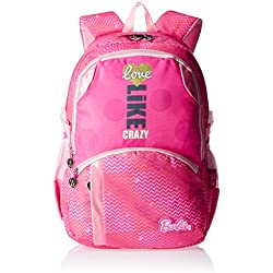 Barbie Nylon 48 cms Pink Children's Backpack (Age group :8 yrs +)