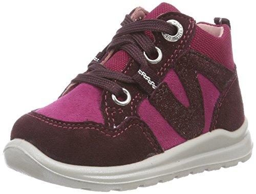 Superfit Baby Mädchen Mel+3-00323-21 Sneaker, ROT, 26 EU