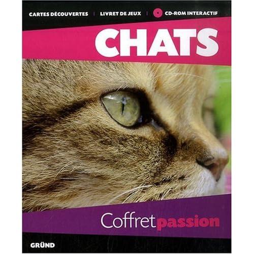 Coffret passion Chats (1Cédérom)