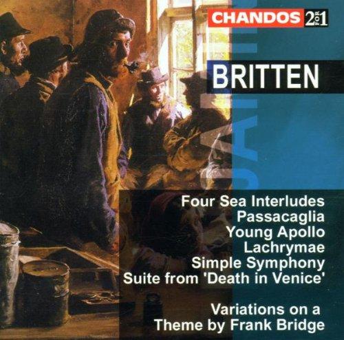 Britten : Ouvres pour Orchestre