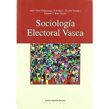 Sociología electoral vasca (Ciencias Sociales)