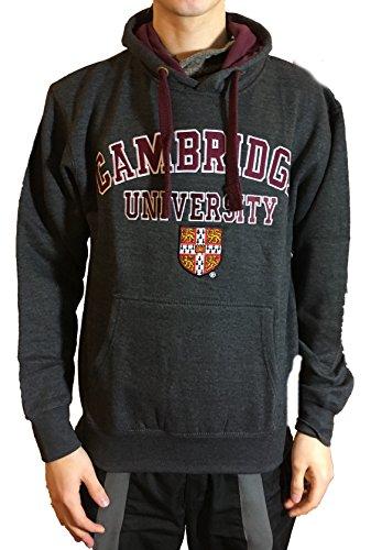 Offizielle Hoodie Cambridge University - Kohle - offizielle Kleidung von der berühmten Universität von Cambridge (Spitze Cambridge)