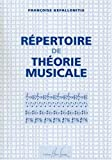 Telecharger Livres Repertoire de theorie musicale (PDF,EPUB,MOBI) gratuits en Francaise