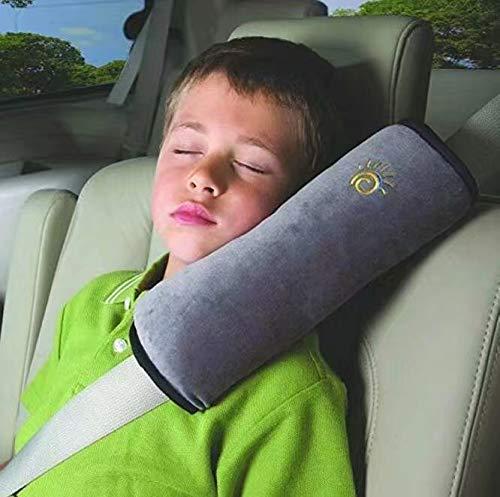 Bebé Niños Ajustable Correa De Seguridad Almohada Hombro Proteccion Cinturones De Seguridad De Coches...