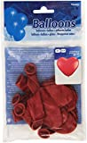 Ballon Herz, rot, 30 cm, 8 Stück