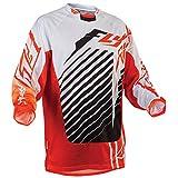 Fly Jersey Kinetic RS orange-weiß: Größe Jersey: M