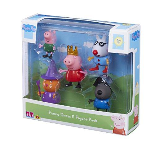 Peppa Pig - Figuren in Kostümen, 5 Stück, 06382