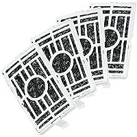 Spares2go - Kit de filtros de repuesto de carbón activo para frigorífico PurifAir (4 unidades)