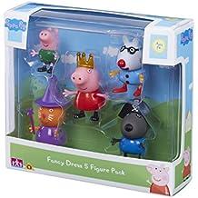 "Peppa Pig 06382""Fancy vestido figura (Pack de 5)"