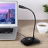 KLIM Talk USB Mikrofon PC - Standmikrofon für Mac und PC - Kompatibel mit Allen Computermodellen - Professioneller Ständer Mikro - Hohe Klangqualität - Recording Youtube Studio Streaming Podcast
