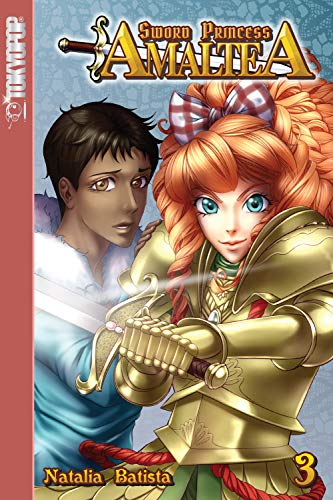 Sword Princess Amaltea Volume 3 manga (English) (Disney Manga: Tim Burton's The Nightmare Before Christmas - Zero's Journey) (English Edition)