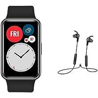 Huawei Watch Fit Black + AM61 Black Earphones
