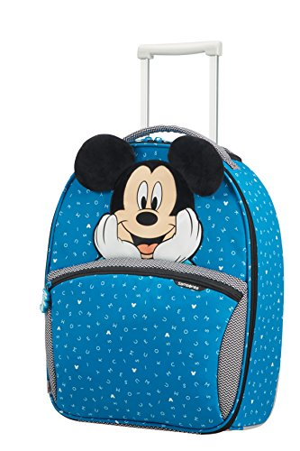 SAMSONITE Disney Ultimate 2.0 - Upright 49/17 2 KG Valigia per bambini, 49 cm, 24 liters, Multicolore (Mickey Letters)