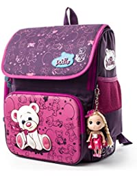 5915066b26 Delune Kids School Bag Waterproof and Personalized Backpack Orthopedic for  Boys and Girls